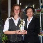 Самоковката Йоана Пишмишова – спортист № 2 на Панагюрище