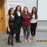 """Ученици от СОУ """"Отец Паисий"""" участваха в конференция в София"""