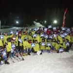 И министър Кралев участва в атрактивно състезание в Боровец