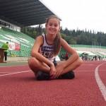 """Добро бягане на състезателите на """"Рилски атлет"""" на държавното по кроскънтри"""