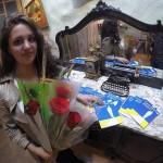 Самоковката Виктория Георгиева представи книгата си в Барселона