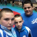 Младите борци с пълен комплект медали от републиканското