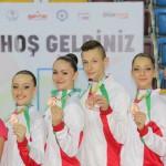 Самоковски грации блеснаха на световната гимназиада в Турция
