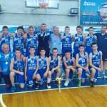 Момчетата до 14 г.  – сребърни медалисти от държавното във Варна