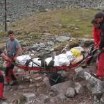 Спасиха жена със счупен крак край Леденото езеро