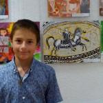 Наградиха младия художник Борислав Каймаканов в Казанлък