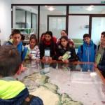 """Ученици проведоха открит урок в Посетителския център на парк """"Рила"""""""