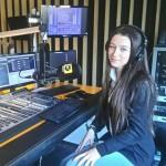 """Иванина Станкева стана """"Мениджър за един ден"""" на ПРОФОН, направи запис в БГ радио"""