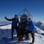 Самоковско трио и туристи от 4 държави изкачиха на 21 януари Мусала
