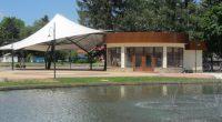 """Чрез конкурс на 14 август бе отдадено под наем кафенето в новия парк – т. нар. крайречна зона. Обектът ще се стопанисва от единствения явил се кандидат – """"Петров-Варошкин"""" ООД. […]"""