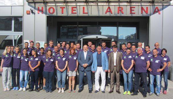 """Градът ни е домакин на изключително престижен международен семинар за съдии по лека атлетика. Форумът бе открит в конферентната зала на хотел """"Арена"""" на 21 юни от спортния министър Красен […]"""