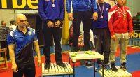 """Общо пет медала – един златен и по два сребърни и бронзови, спечелиха състезателите на """"Рилски спортист"""" на държавния лично-отборен шампионат по борба /класически стил/ за кадети, състоял се на […]"""