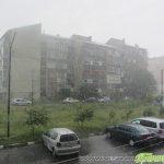 Мощна гръмотевична буря удари Самоков