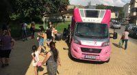 """Известният вече """"Розов кемпер"""" /специално обзаведена каравана/ на фондацията на Нана Гладуиш """"Една от 8"""" гостува на 25 юли в Самоков. """"Целта на фондацията не е да оказва медицинска помощ […]"""