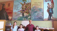 """С впечатляващи големи рисунки върху стена възпитаниците на Иван Шуманов от Школата по изобразително изкуство """"Наум Хаджимладенов"""" към читалище """"Младост"""" обновиха през последните две седмици кабинетът по история в ОУ […]"""