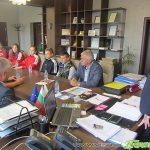 Кметът Владимир Георгиев прие отличилите се в Чехия самоковски атлети
