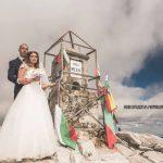 Сватбена фотосесия на Мусала навръх Съединението