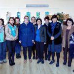 Самоковските библиотекари посрещнаха колежка от Финландия
