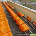 """Злосторници отново вилняха на стадион """"Искър"""", изпочупиха десетки седалки"""