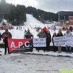 """Протест на самоковци в Боровец: """"Цените – европейски, а заплатите?…"""""""
