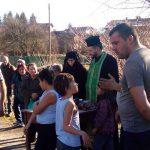Салвадор Точев спаси кръста на Водици в Алино