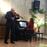 Йосиф и Зорница Радионови направиха с цигулка и пиано уютен студения януарски ден