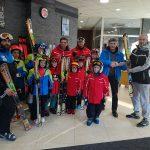 """SLS Rossignol дари ски с автомати на фондация """"Петър Попангелов и приятели за Боровец"""""""