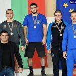 """Шест медала за """"Рилски спортист"""" от държавното по борба за мъже и жени в Сливен"""