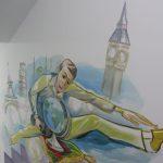 Самоковски творци изрисуваха сграда в София