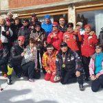 """Скиорите на """"Рилски спортист"""" спечелиха републиканското първенство за ветерани"""