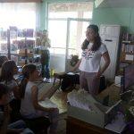 Писателката Цвета Белчева гостува в Самоков и влезе в непринуден разговор с ученици