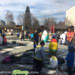Деца и младежи украсиха града ни за Великден