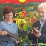 """Връчиха наградата """"Захарий Зограф"""" на Динко Стоев на церемония в Художествената галерия"""