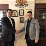 Илиан Тодоров води бизнесмени от Софийска област в Иран
