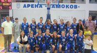 """Четири баскетболистки от шампионския състав на """"Рилски спортист"""" заминават днес с националния отбор за момичета до 14 години за Словения, където ще участват в силен международен турнир. В селекцията на […]"""