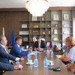 Кметът прие новия ръководител на Ротари България