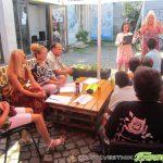 Слънчево време и настроение на последното лятно парти от програмата на Младежкия дом