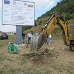 Ремонтът на пътищата до Белчин, Злокучане и Доспей започна с първа копка край Драгушиново