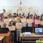 """Ученици от ОУ """"Св. св. Кирил и Методий"""" се включиха в Европейската седмица на програмирането"""