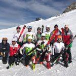 Антон Томов се готви с младежките национали по ски на глетчера Хинтертукс