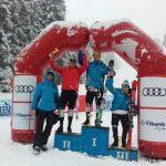 Скиорът Георги Морунов спечели сребърен медал в първия слалом за сезона