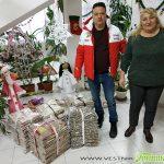 Стефан Докузов с хуманен жест към Дома за стари хора в навечерието на Коледа