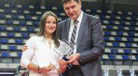"""Бившата състезателка на клуб """"Рилски спортист"""" Биляна Дудова бе удостоена с приз за най-добър спортист на България до 23-годишна възраст на церемонията """"Нощта на шампионите"""", организирана на 19 януари от […]"""