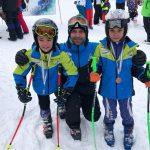 """Пет медала за най-младите самоковски скиори от състезанието за купа """"Пампорово"""""""