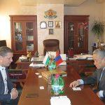 Областният управител Тодоров се срещна с посланика на Монголия Дашжамц  Батсайхан