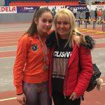 """Изабел Крамарска с два медала от националния шампионат за момичета до 16 г. в """"Асикс Арена"""""""