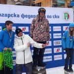 Самоковските сноубордисти обраха медалите на слалом и биг еър във втория ден на държавното