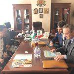 Областният управител Илиан Тодоров се срещна с посланика на Италия Н. Пр. Стефано Балди