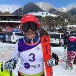 Ева Вукадинова с второ място на слалом за ФИС в Кранска гора, Словения