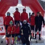 Кристина Георгиева и Стефан Ярловски – трети на държавното първенство по ски на Витоша